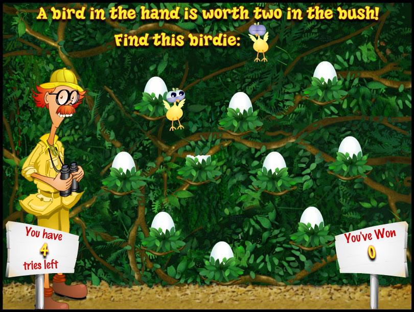 Watch the Birdie Bonusspel